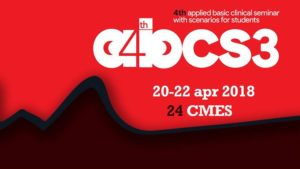 4th ABCS3 | Lectures, Clinical Skills, PreHosp Scen, Cl Scen @ Κέντρο Διάδοσης Ερευνητικών Αποτελεσμάτων Απθ | Thessaloníki | Greece